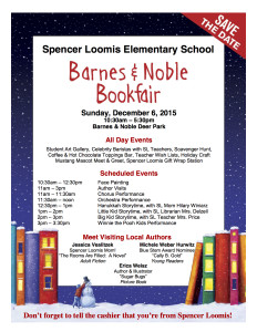 Spencer Loomis B & N Book Fair 2015